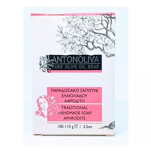 Pure soap with olive oil - Afrodite - 100gr  - Antonoliva