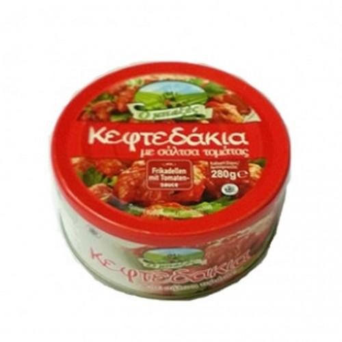 "Meatballs ""keftedakia"" in Tomato Sauce - Ready Meal  - 280gr - Baxes"