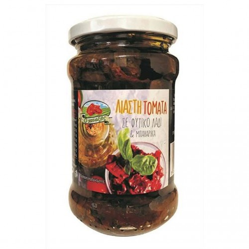 Sun-dried tomatoes in sunflower oil and species - 280gr - BAXES
