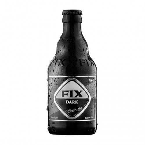 Fix Hellas Dark Beer bottle - 330ml - 5,2% vol - Olympic Brewery