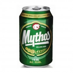 Mythos Beer can - 330ml - 4,7vol - Olympic Brewery