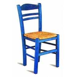 Traditional Wooden wicker chair - Hellinikon