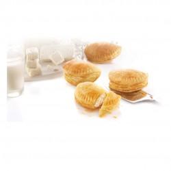 Frozen Tiropitakia, Feta cheese puff pastry mini pies - 1Kgr - Evoiki