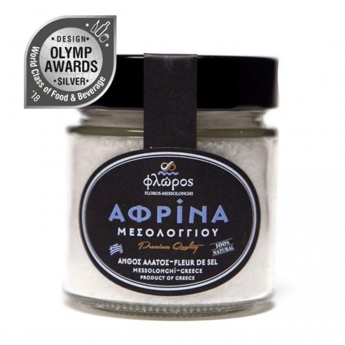 Afrina sea salt of Mesolonghi - 200gr - Floros