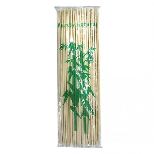 Wooden sticks for skewers - 90pcs- 25cm - Hellinikon