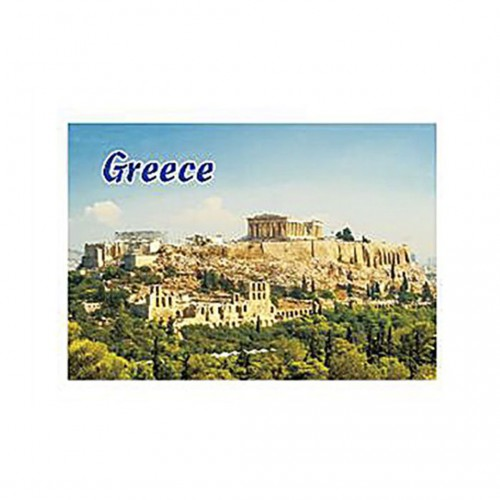Magnetic with Acropolis - 8x5.5cm - Hellinikon