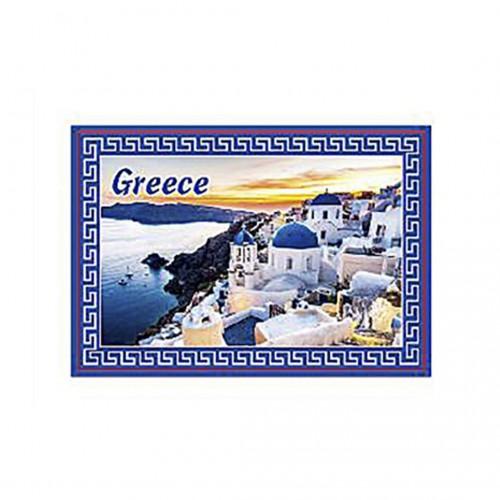 Magnetic Greek Landscape - 8x5.5cm - Hellinikon