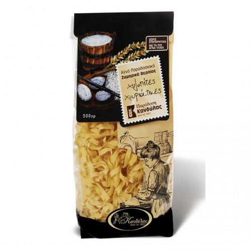 Hilopites Long Flat Style Pasta - 500gr - Kandylas