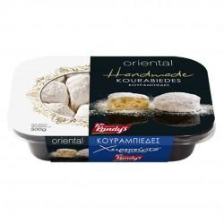 Greek Traditional Cookies with Almonds (kourabies) - 500gr - Kandylas