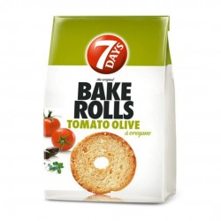 Bake Rolls 7DAYS Mini Paximàdia with tomato and olive - 160gr - Chipita