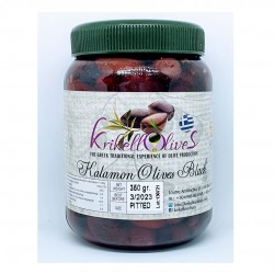 Kalamata olives pitted - 350gr - Krikellos Olives