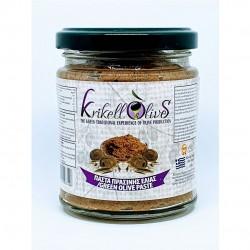 Green olives paste - 180gr - Krikellos Olives