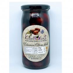 Whole Kalamata olives 181-200 JUMBO - 215gr - Krikellos Olives