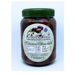 Whole Kalamata olives 181-200 JUMBO - 350gr - Krikellos Olives