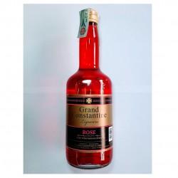 Rose liquor Grand Constantine 25% vol - 700ml - Krinos