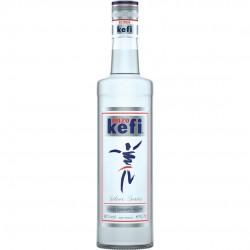 Ouzo Kefi Silver Series 40%vol - 700ml - Krinos