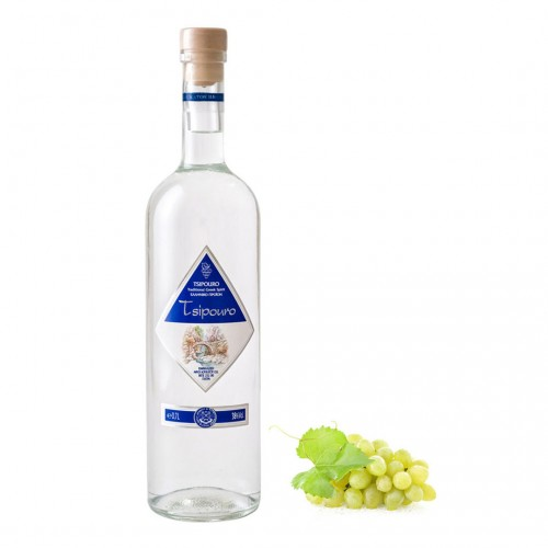 Tsipouro Loukatos Tsipouro without anise 38% vol - 700ml - Traditional greek distillate - Loukatos