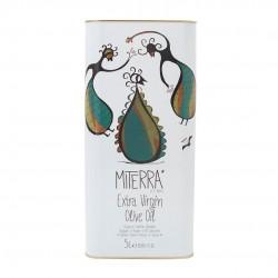 Cretan Miterra extra virgin olive oil - 5l - Minoan Gaia