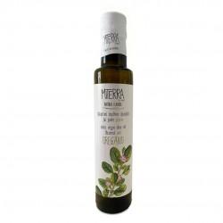 "Cretan extra virgin olive oil with oregano flavored ""MITERRA - MIA TERRA'' - 250ml - Minoan Gaia"