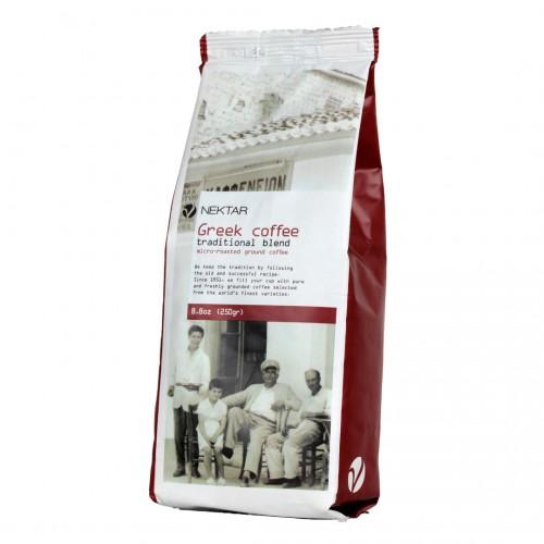 Greek coffee Traditional blend - 250gr - Nektar