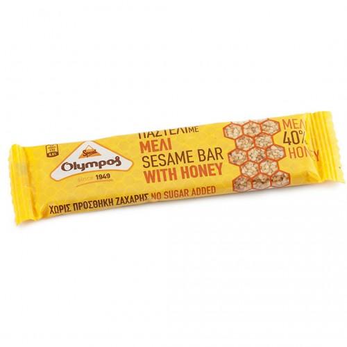 "Sesame bar ""pasteli"" with honey - 30gr - Olympos"