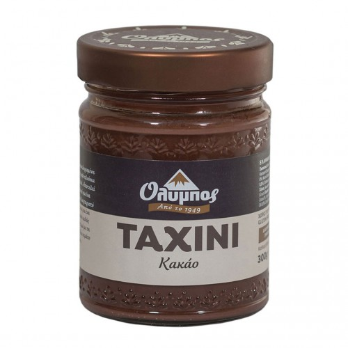 Greek Tahini with cocoa gluten free - 300gr - Olympos