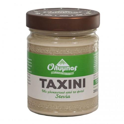 Greek Tahini with stevia gluten free - 280gr - Olympos