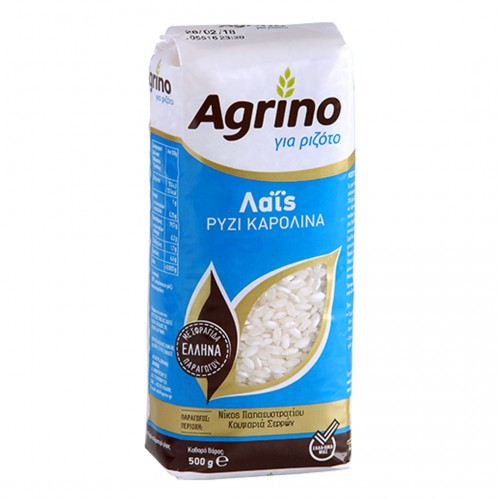 White medium karolina Rice - 500gr - Agrino