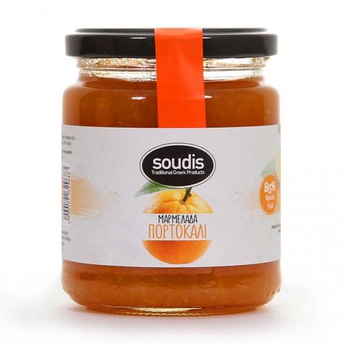 Traditional Orange Jam - 310gr - Soudis