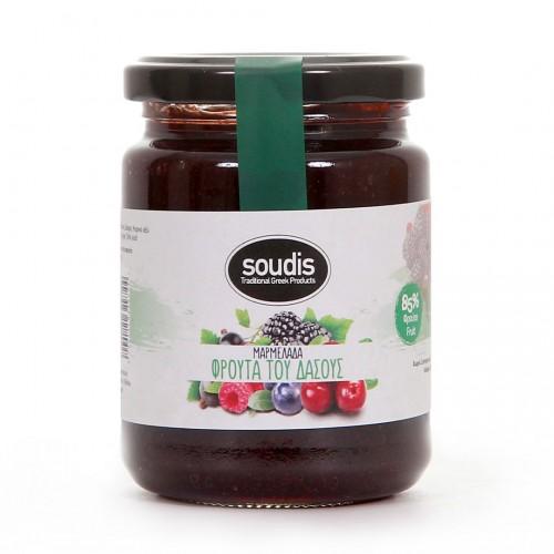 Traditional Mixed berries Jam - 310gr - Soudis