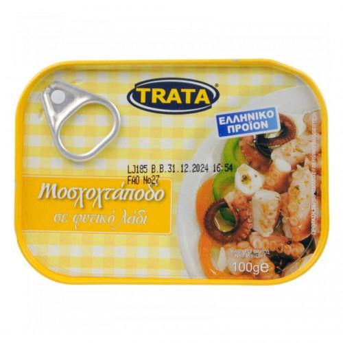 Musky Octopus in vegetable oil - 100gr - Trata