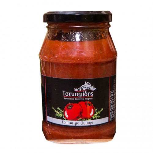 Tomato sauce with thyme - 350gr - Tsentemidis