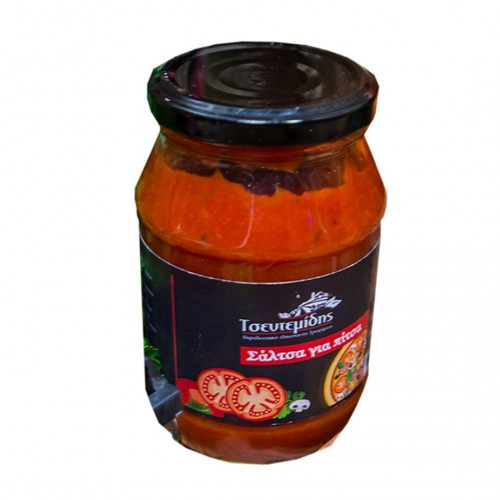 Tomato sauce for pizza - 420gr - Tsentemidis