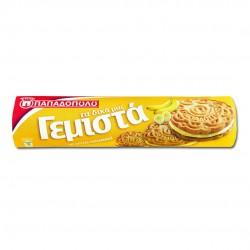 "Sandwich Biscuits with Banana Cream ""Gemista"" - 200gr - Papadopoulou"