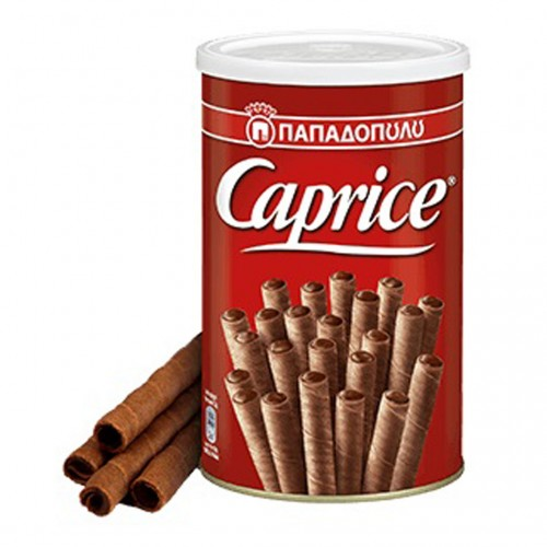 CAPRICE wafer with hazelnut and cocoa cream - 115gr - Papadopoulou
