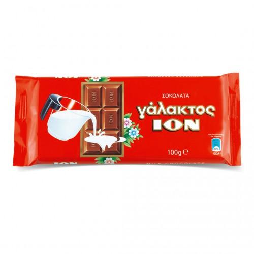 "Greek milk chocolate ION ""GALAKTOS"" - 100gr - Ion"