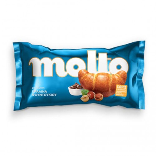 """Molto"" Hazelnut Praline Croissant - 110gr - Chipita"
