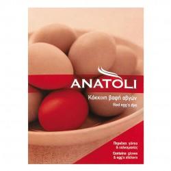 Red egg' s dye - 3gr - Anatoli